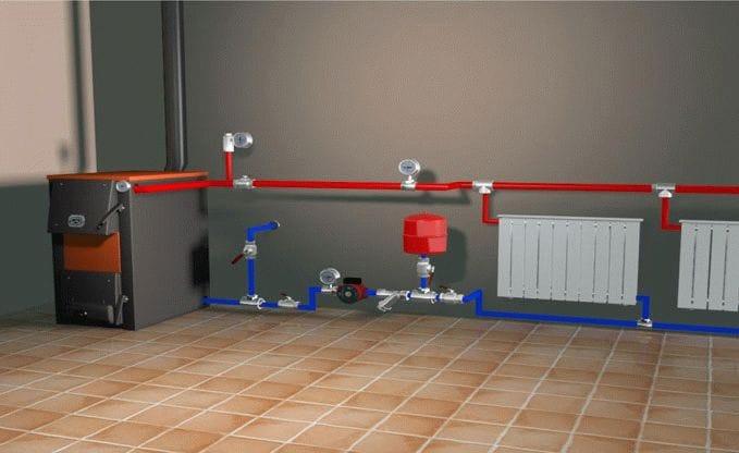 Реклама комплектации и монтажа систем отопления