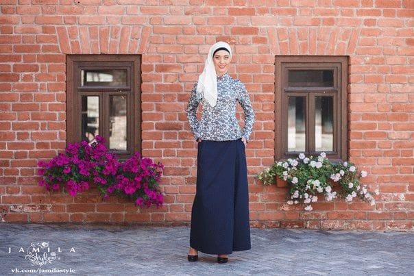 Реклама мусульманской одежды