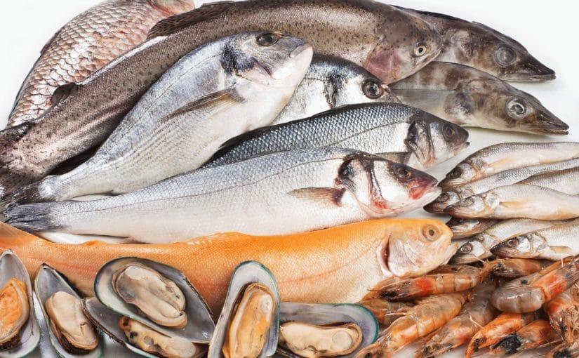 Реклама качественных морепродуктов