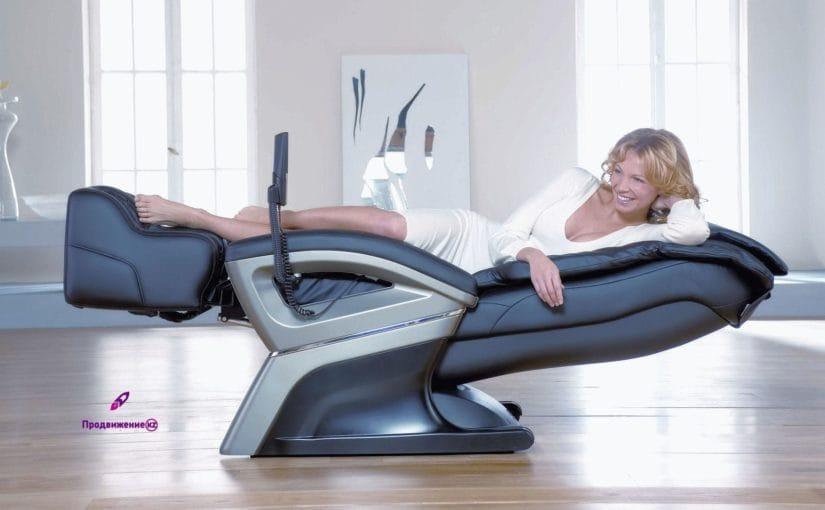 Реклама массажных кресел и оборудования для массажа