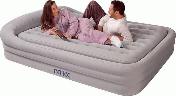 Реклама надувных матрасов и кроватей