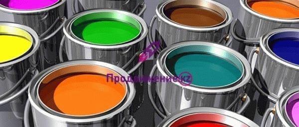 Реклама лакокрасочной продукции