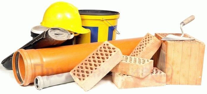 Building materials advertising