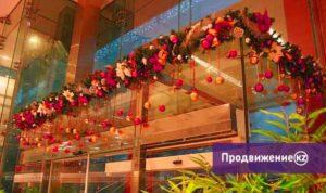 Новогоднее оформление торговых комплексов